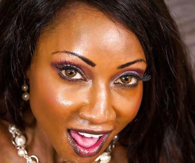 Ebony cougar Diamond Jackson has her tight pussy fucked hardcore