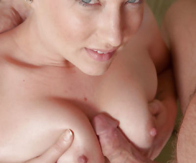 Big tit blonde bombshell Nora Skyy getting her hairy pussy drilled