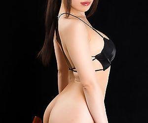 Sweet Japanese girl gets on her knees to pleasure her gentleman friend