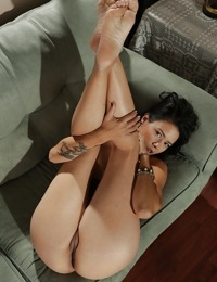 Lovely Dana Vespoli shows off her big Asian ass under her jeans