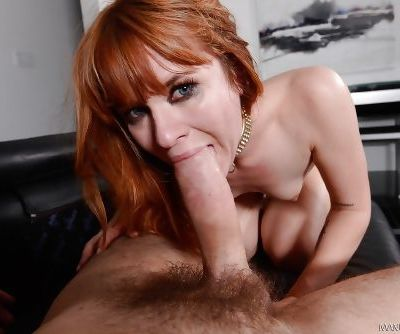 The creamy white ass of Milf pornstar Claire Robbins gets exploited
