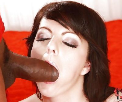 Lena prefers working with big black dicks and getting cumshots
