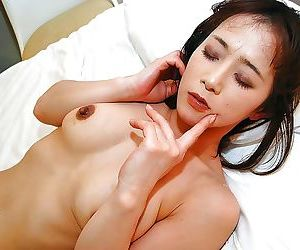 Asian MILF gives a sensual blowjob and gets her hairy pussy shafted