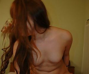 Asian slut Rena Nagano gets her hairy pussy cocked up and creampied