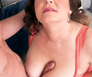 Hot busty babe Josie Ray gets her asshole penetrated in hardcore fashion