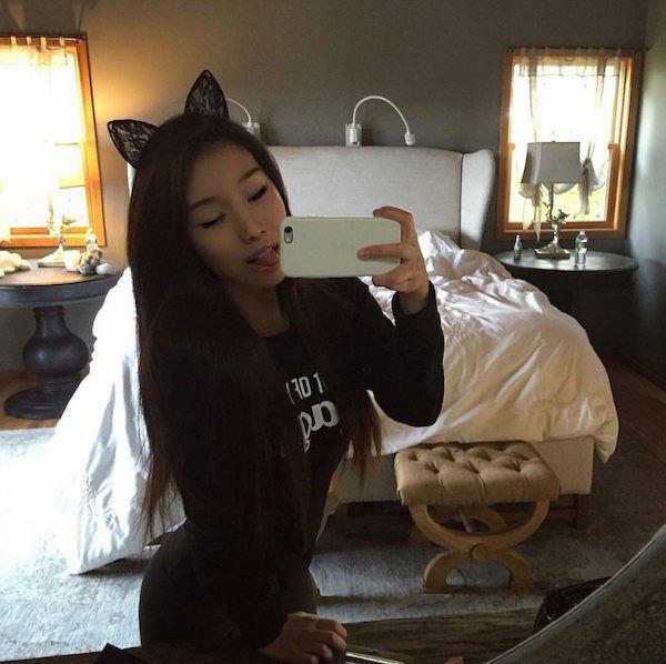 Sexy Asian Kitty