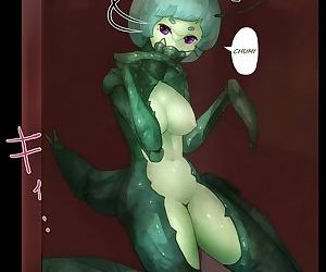 Sex with Mantis Girl -Report of Humanizer Virus Infection-