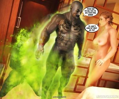 InterracialSex3D – Green Rage