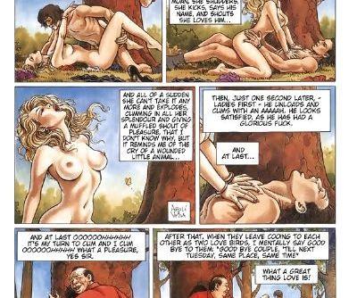 EroticArt- Threesomes- Felix Vega