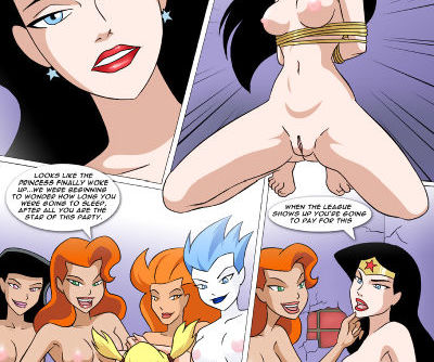 Justice League-Princess in peril