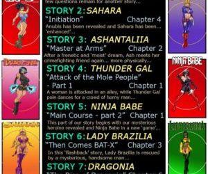 9 Super Heroines – The Magazine 9