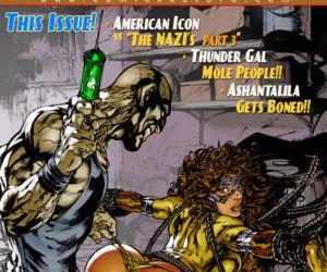 9 Super Heroines- The Magazine 10