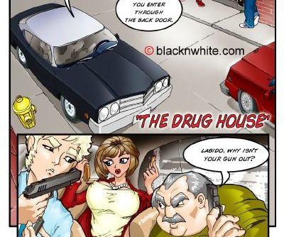 BlacknWhite- White Cops black Cocks