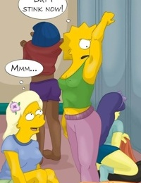 The Simpsons- Lesbian Orgy At School Gym