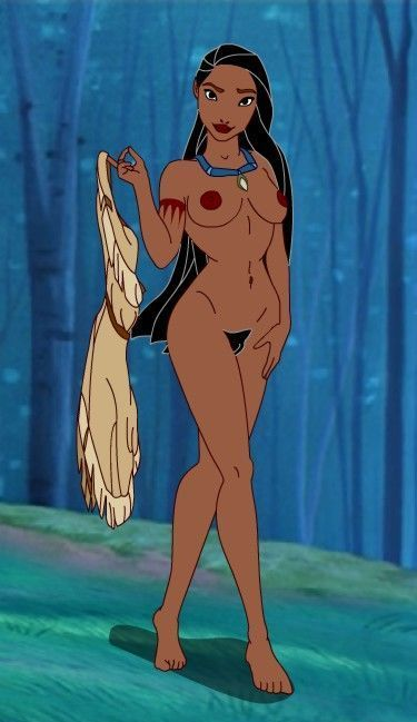 Pocahontas one with nature