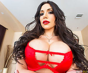 Jaclyn wants to look sexy for her husband on valentines day, so she tries on di - part 1718