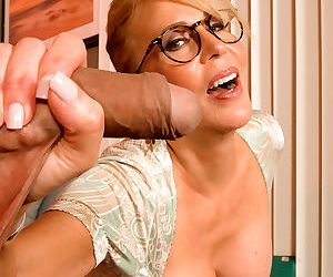Mature tutor erica lauren seduces a young boy wearing glasses - part 1529