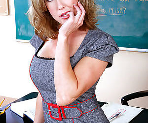 Professor brandi love is excited because her student aced his latest exam. shed - part 1777