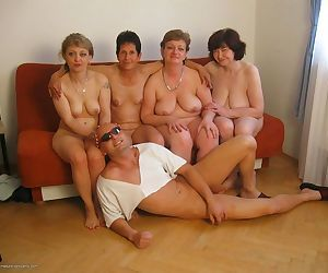 These mature sluts love group fucking - part 2058
