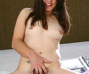 Milf with hairy pits and pussy shows her goods - part 1894