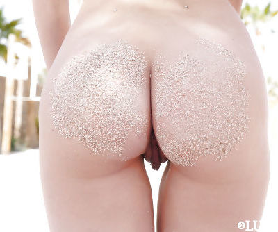 Tiny young blonds Piper Perri and Elsa Jean strip off bikinis for dyke sex - part 2