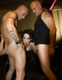 Anissa Kate getting fingered and penetrated by several fellows - part 2