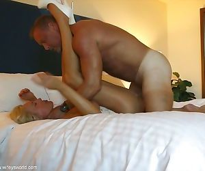 Mature housewife Sandra Otterson takes part in hardcore sex scene - part 2