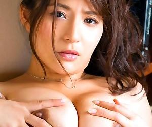 Big breasted asian porn star meguri posing in her bedroom - part 4443