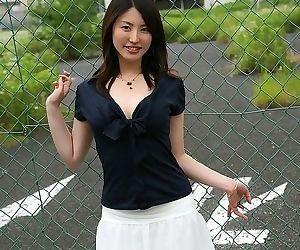 Naughty asian takako kitahara shows tits and pussy - part 2348
