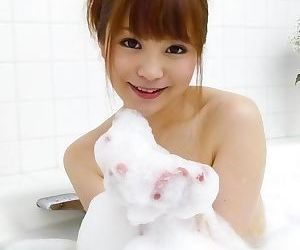Maomi nagasawa asian with soap on boobies sucks and licks dongs for facial cumsh - part 1790