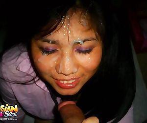Asian teen girlfriends posing for the camera - part 844