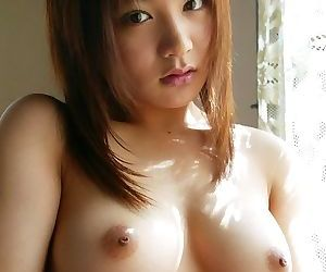Busty asian babe noa aoki shows off tits and pussy - part 3910