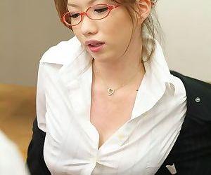 Asian teacher nami kimura sucking a cock till jizz - part 1021