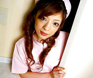 Naughty japan nurse yume imano in pink uniform - part 4453