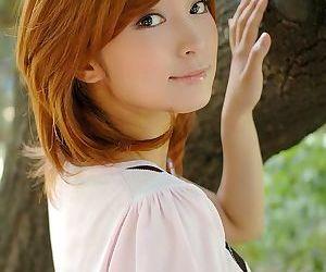 Redhead asian karin showing small tits and panties - part 3758