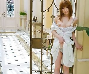 Pretty asian cutie miyu nakai shows tits and pussy - part 3674