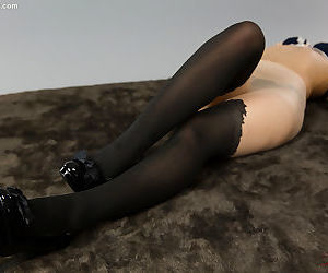Japanese girl in various foot and leg fetish shots - part 1808