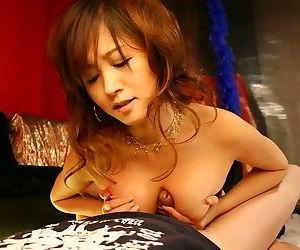 Japanese babe moe ousawa sucking cocks till facial - part 892