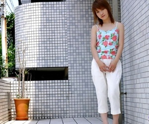 Cute japanese model akari shows her tits and pussy - part 3598