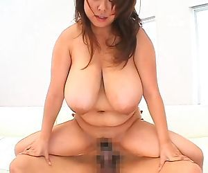 Big tits asian fuko playing with two guys and her massive tits - part 4205