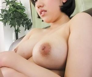 Busty asian hana harusaki shaved and suckin a cock - part 1097