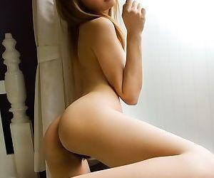 Asian chick hinano momosaki showing tits and pussy - part 1688