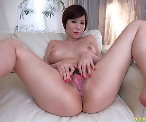 Three japanese beauties spreading their legs and showing the goo - part 4139