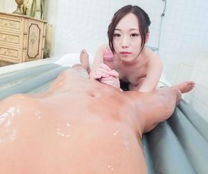 Asian mao sena in a bathroom hardcore and creampie - part 629