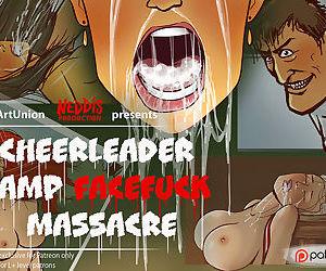 Cheerleader Camp Facefuck Massacre