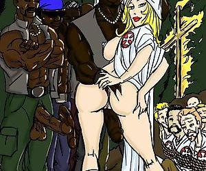 O Klan Fuck- illustrated interracial