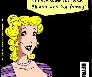 Blondie and Family Have Fun