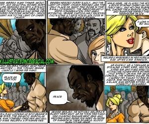 Illustrated interracial- New Parishioner