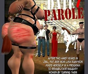 Milf3Dartist- Lisa's Big Prison Date 4