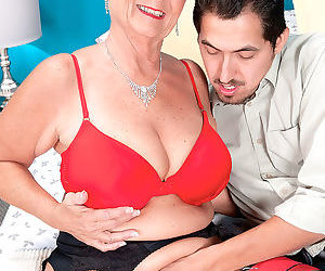 Naughty granny joanne price seduces younger man - part 1550
